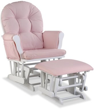 Stork Craft Storkcraft Hoop Custom Glider Chair & Ottoman Set