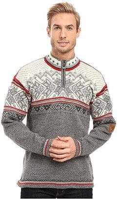 Dale of Norway Vail (Smoke/Raspberry) Men's Sweater