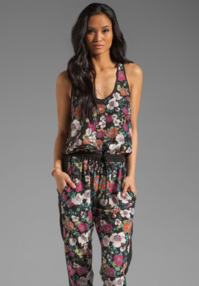 Eight Sixty Alice Floral Jumpsuit