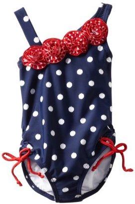 Hartstrings Girls 2-6X Toddler Americana One Piece Bathing Suit