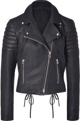 Faith Connexion Leather Jacket Perfecto in Black