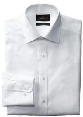 Black Brown 1826 Regular Fit Non-Iron Pinpoint Dress Shirt