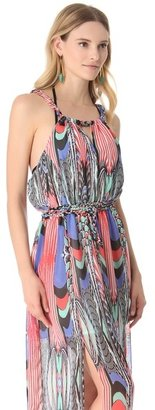L-Space Inca Ruins Cover Up Dress