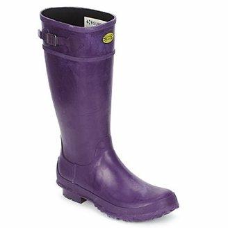 Superga 745 RBRU WELLIES women's Wellington Boots in Purple