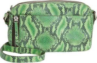 Gryson OH by Joy Snakeskin-Stamped Top Zip Crossbody Bag