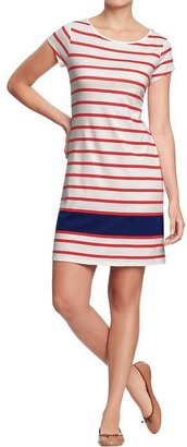 Old Navy Women's Striped Tee Dresses