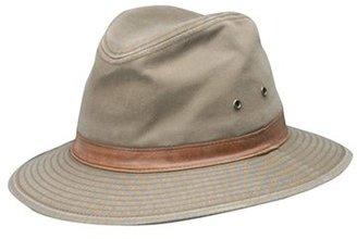 Men's Dorfman Pacific Safari Fedora - Brown $38 thestylecure.com