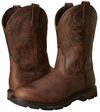 Ariat Groundbreaker Pull-On (Brown) Cowboy Boots