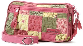 Donna Sharp quilted patchwork convertible clutch