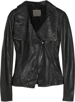Muu Baa Muubaa Agena leather jacket