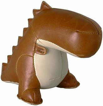 Bobo House Zuny the Dinosaur Bookend, Tan