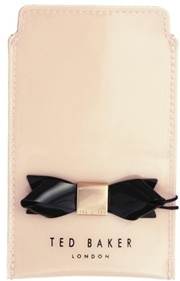 Ted Baker Catrin Shell Pink Bow iPhone Case