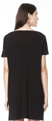 Alexander Wang Classic Boatneck Dress With Pocket