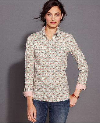 Tommy Hilfiger Long-Sleeve Printed Shirt