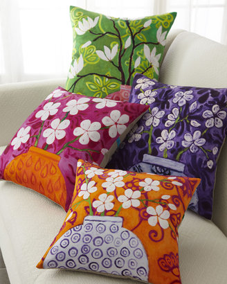 Horchow Colorful Floral Pillows