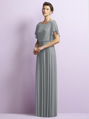 Jy - Jenny Yoo - JY511 Dress in Suede Rose $239 thestylecure.com
