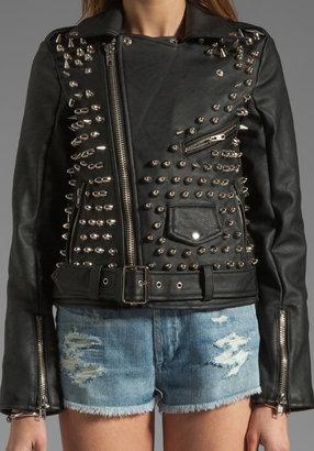 UNIF Metal Moto Jacket