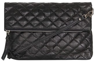 Topshop Quilted Leather Crossbody Bag