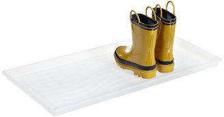 Container Store Boot Tray Translucent