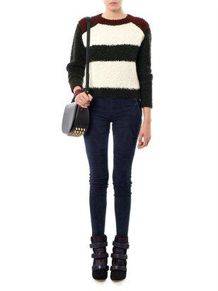 Isabel Marant Owel colour-block sweater