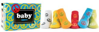 Trumpette Peace Socks, Assorted, 0-12 Months