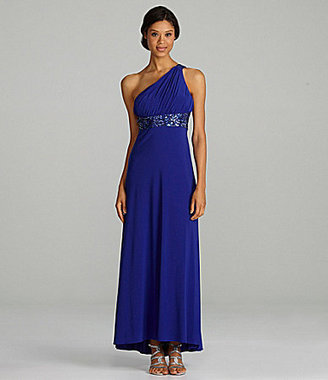 Night Way Beaded Gown