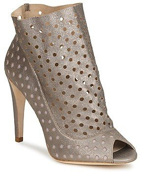 Bourne RITA women's Low Ankle Boots in Silver