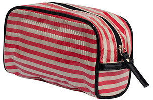 Forever 21 Striped Cosmetic Bag