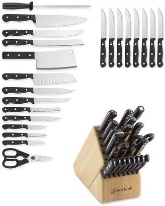 Wusthof Gourmet 23-Piece Knife Block Set
