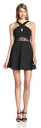 BCBGeneration Women's Cross-Front Dress