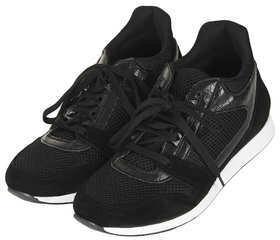 Topshop ASCER Hi Wedge Running Trainer