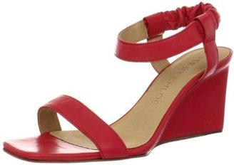 See by Chloe Women's Elastic Ankle Strap Open-Toe Wedge Sandal