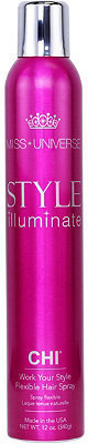 Chi Miss Universe Style Illuminate Work Your Style Flexible Hair Spray