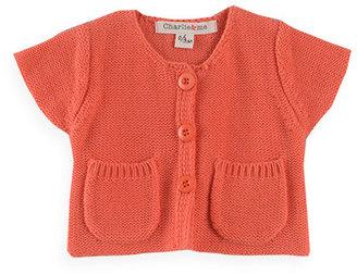Pumpkin Patch Short Sleeve Cardigan