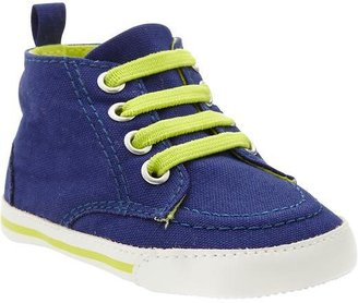 Old Navy Jersey Soft-Sole High Tops for Baby