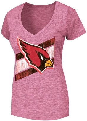 Arizona cardinals victory play v tee - women's