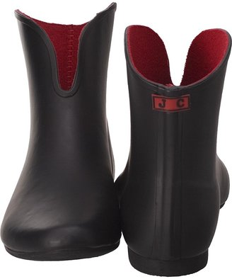 Jeffrey Campbell Vee Black Rain Boot