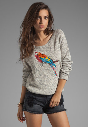 Joie Durene Place Embroidery Sweater