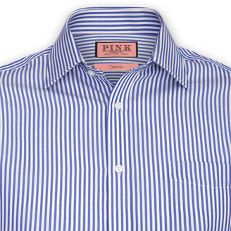 Thomas Pink Brookland Stripe Shirt - Button Cuff