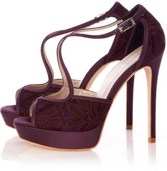Karen Millen Lace Sandal