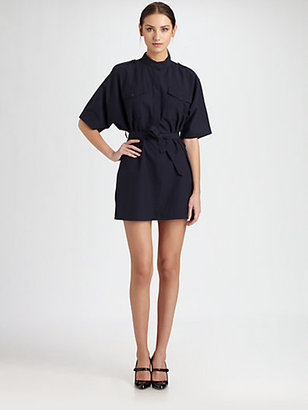 Boy By Band Of Outsiders Belted Shirtdress