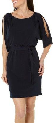 Jessica Simpson Women's Self Tie Jersey Shift Dress
