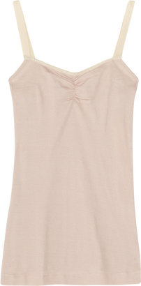 See by Chloe Ribbed jersey camisole
