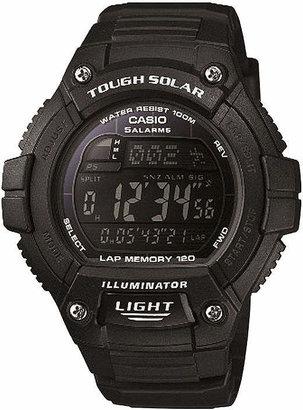 Casio Solo Runner Mens Black Multifunction Watch WS220-1BV