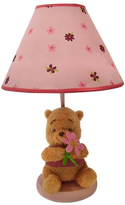 Disney Winnie the Pooh Delightful Day Lamp w/ Plush Base & Shade