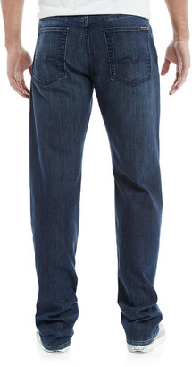 7 For All Mankind Standard Arctic Sky Jeans