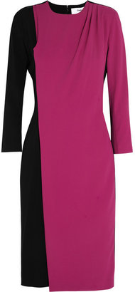 Chalayan Ascension two-tone stretch-crepe dress