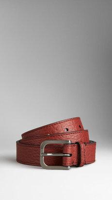 Burberry Heritage Grain Leather Belt