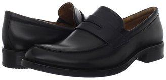 Ecco Canberra Slip On (Black Montecarlo) - Footwear