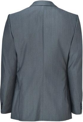 HUGO Dark Grey Virgin Wool-Silk Amaro/Heise Blazer